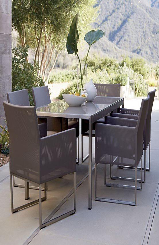 mobiliario muebles terraza sillas playa conjuntos