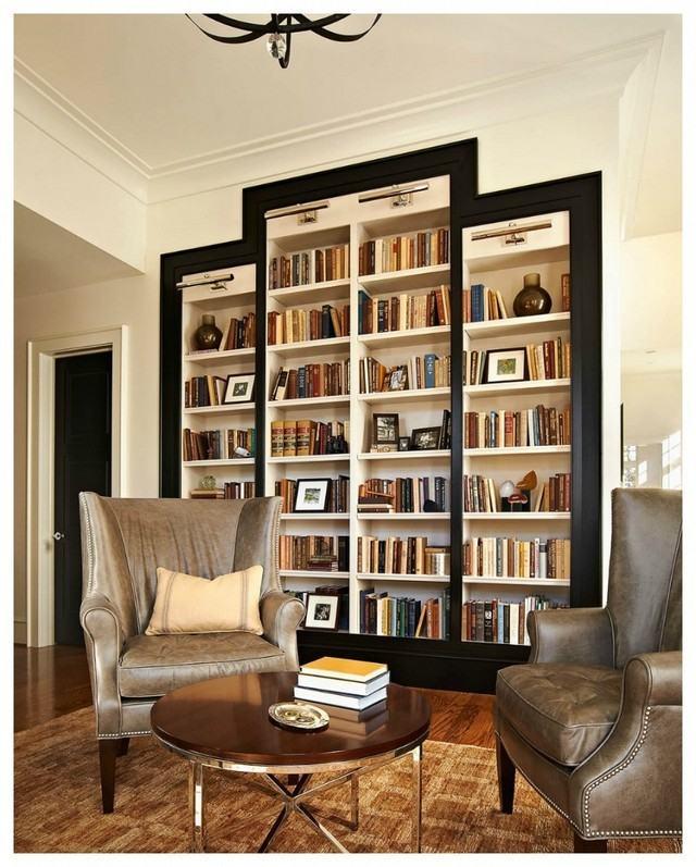 modernas creativas habitacion relajarse libros leer