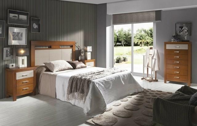moderno cama moviliario alfombras muebles madera