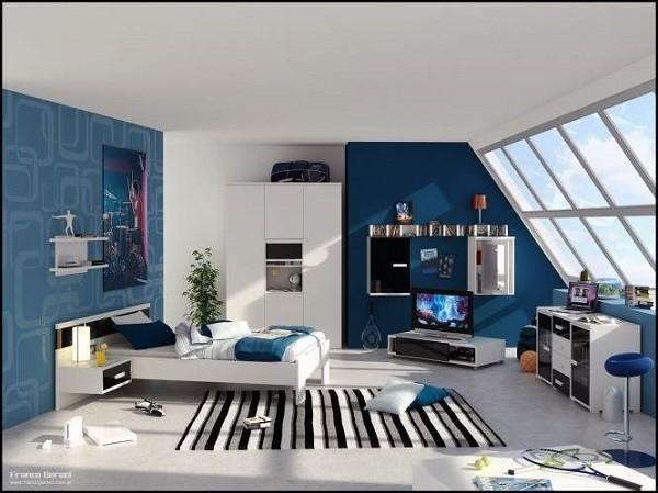 Muebles juveniles para dormitorios de adolescentes for Diseno de habitacion para adolescente