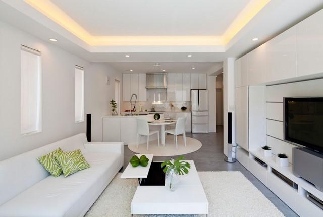 moderno diseño zen bonito blanco simple