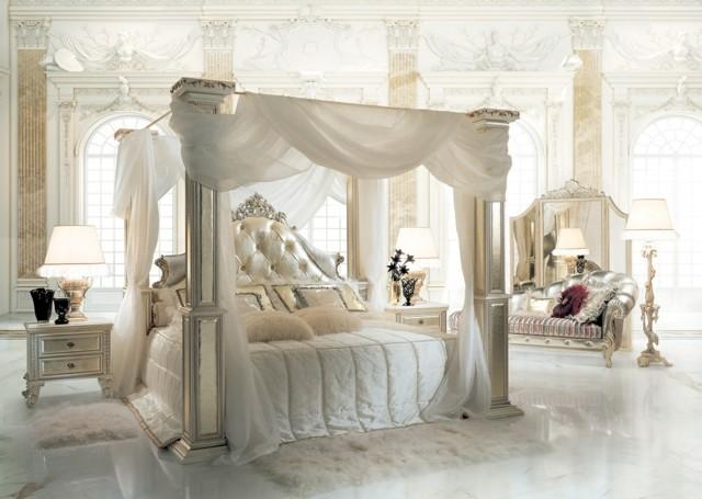 Dormitorios matrimonio con camas con dosel - Letto a baldacchino bambina ...