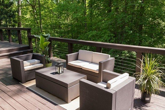 moderno sillas diseño mesas jardin exterior