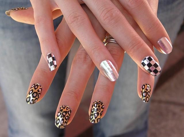 estampa moderno salvaje leopardo bonito