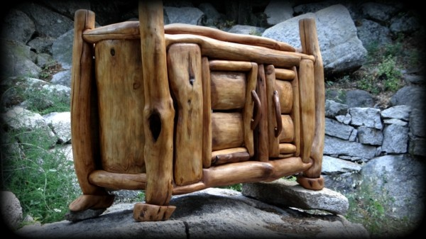 mueble madera de deriva puertas