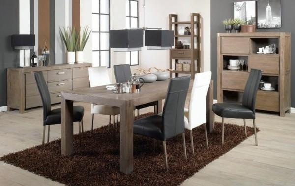 muebles comedor salón alfombra