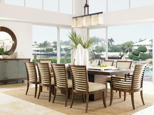 muebles comedor salón vistas terraza