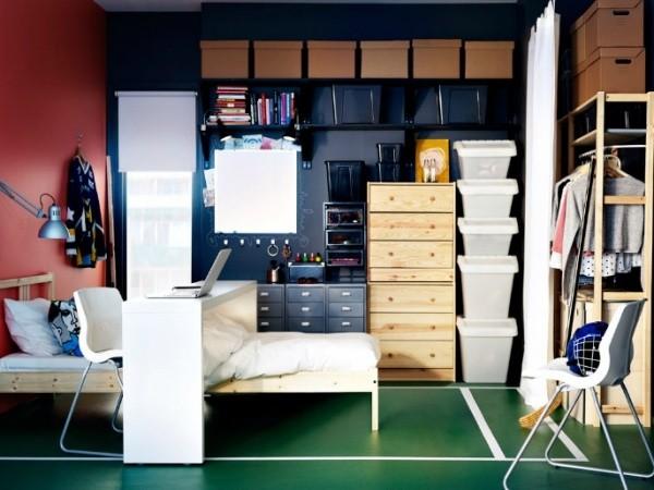 Muebles juveniles para dormitorios de adolescentes - Chambre ado fille ikea ...