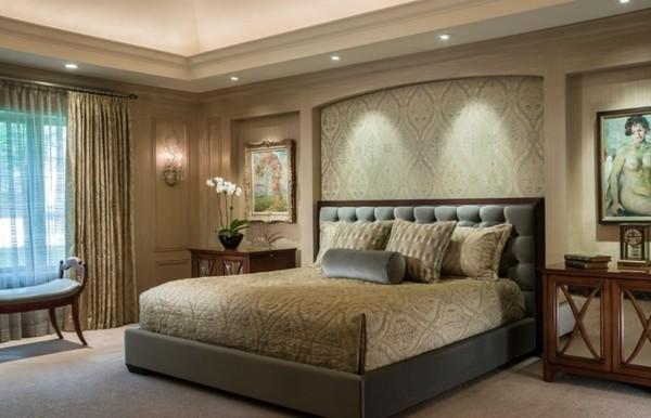 muebles de habitación matrimonio beige