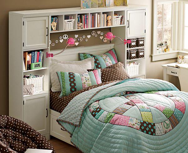 muebles de jóvenes cama colcha