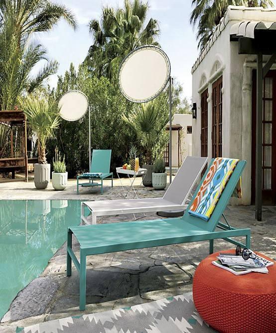 Muebles de jardín exterior mobiliario decoracion tumbona