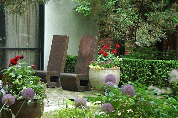 Muebles de jard n dise os atrevidos para cada hogar - Muebles jardin exterior ...