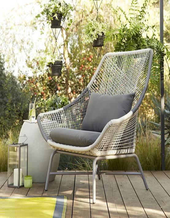 Mobiliario terraza trendy cubiertas y fundas para muebles for Mobiliario jardin terraza