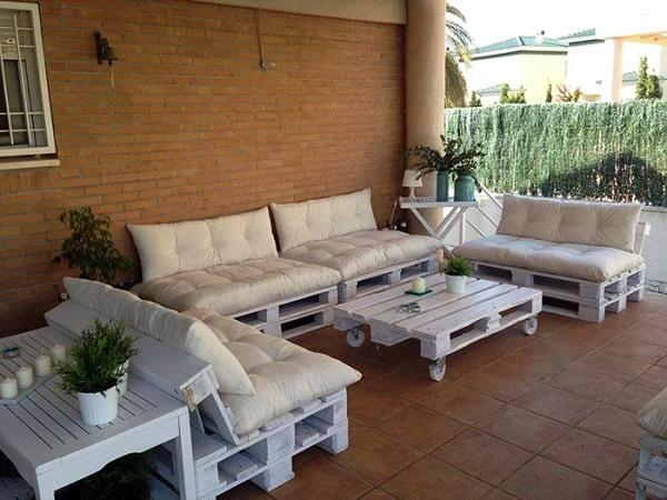 Muebles de palets f ciles pr cticos y muy c modos for Mobiliario de terraza