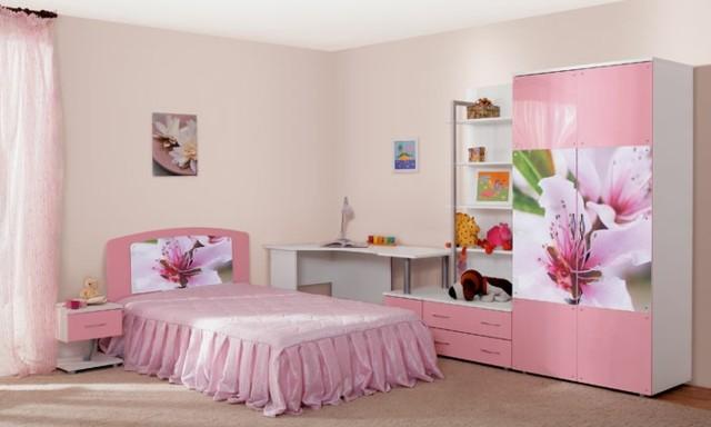 Muebles para decorar en habitacion de ni a casa dise o for Muebles dormitorio nina