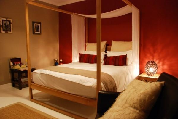muebles habitación cama lujo madera