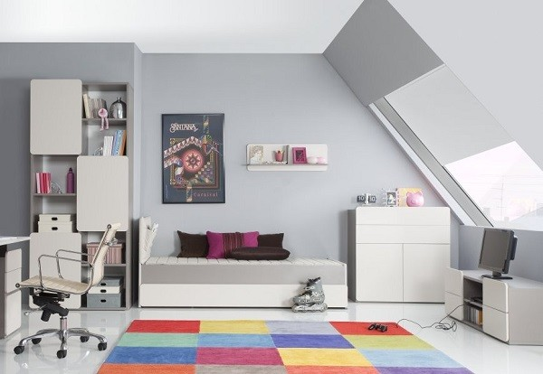 muebles juveniles para dormitorios de adolescentes. Black Bedroom Furniture Sets. Home Design Ideas