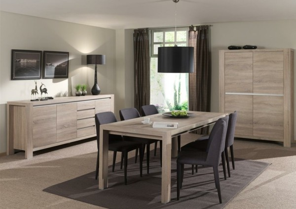 muebles de comedor en el sal n para las cenas especiales. Black Bedroom Furniture Sets. Home Design Ideas