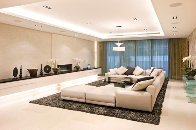 muebles varios componentes amplio diseño moderno ventanales