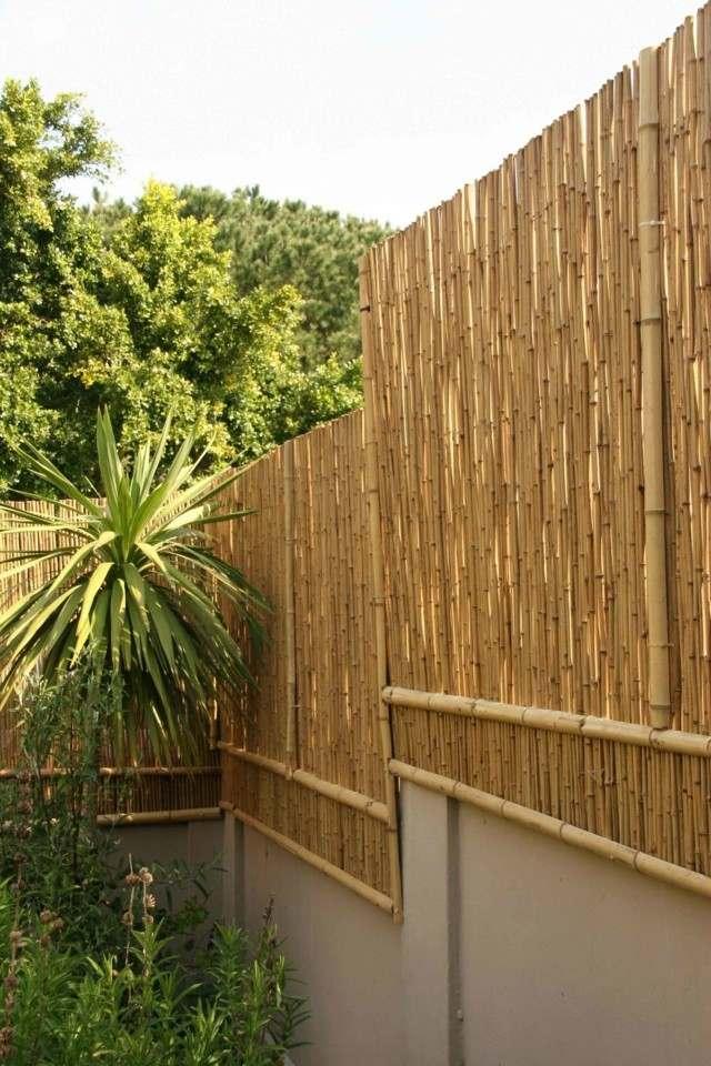 Vallas de madera con bamb la soluci n inteligente for Muro de separacion terraza