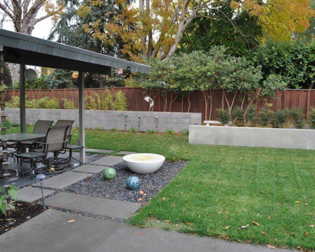 Dise o de jardines ideas para muros de ensue o for Decoracion de jardines y muros exteriores