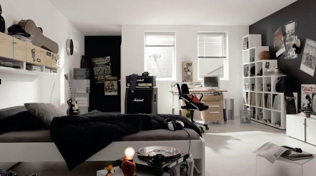 musica cama armario guitarra ventanas