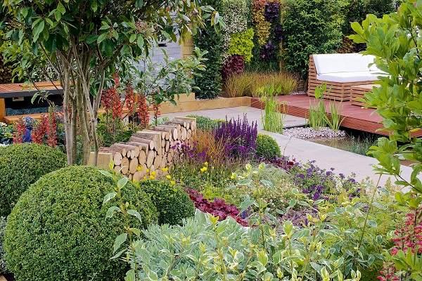naturales jardines especiales fijos