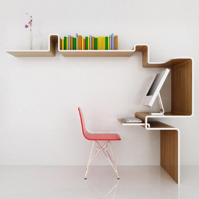 oficina casa idea minimalista interesante innovadora