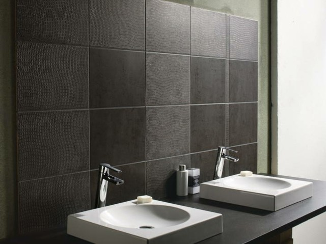 oscuro diseño moderno azulejos textura