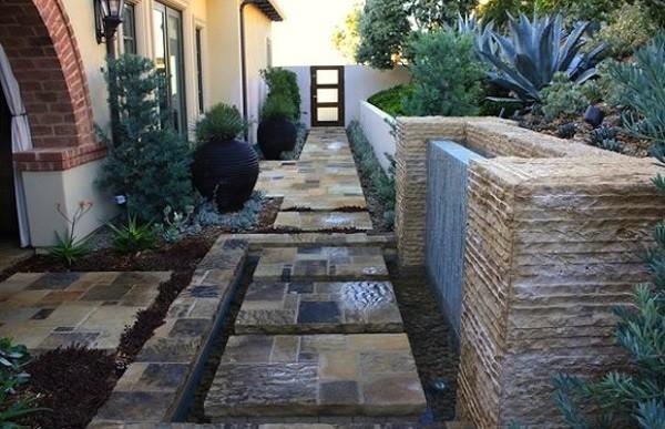 paisaje bonito estilo minimalista contemporaneo piedras