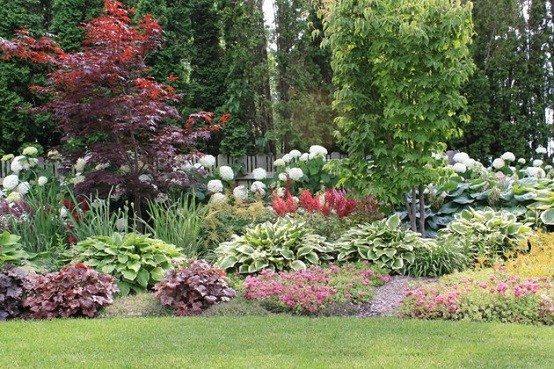 paisajismo jardines modernos diseño combinado