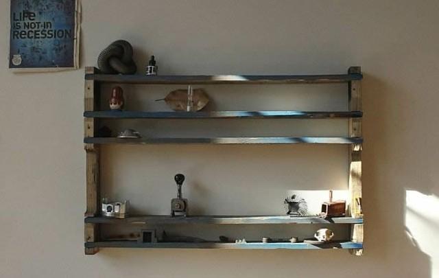 palet estante madera mueble decoracion