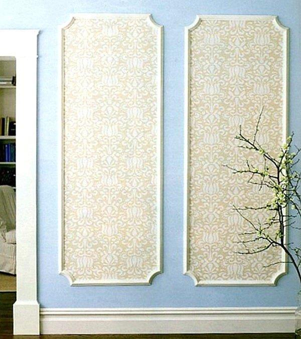 paneles decorativos para paredes enmarcados