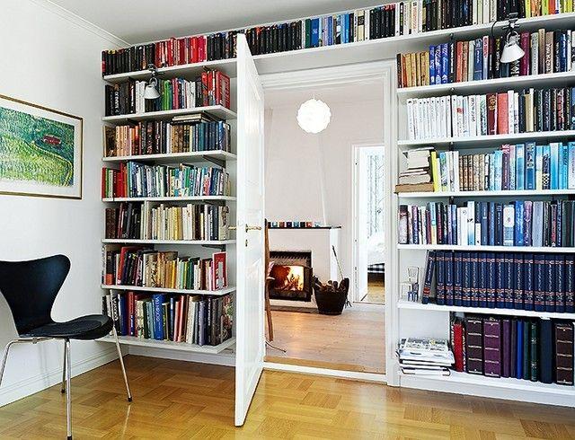Estanterias para libros ideas originales - Librerias de pared ...
