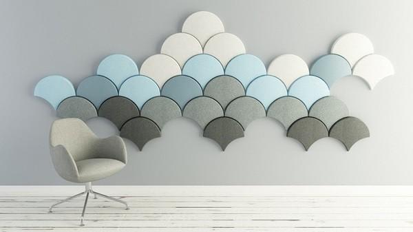 Decorar paredes con lo ltimo en tendencias - Akustikplatten wand ...
