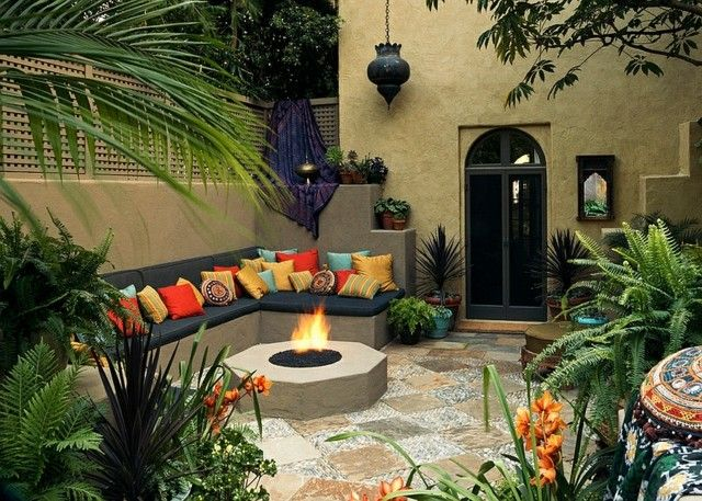 Decoraciones de terrazas en estilo marroqu - Decoraciones de terrazas ...