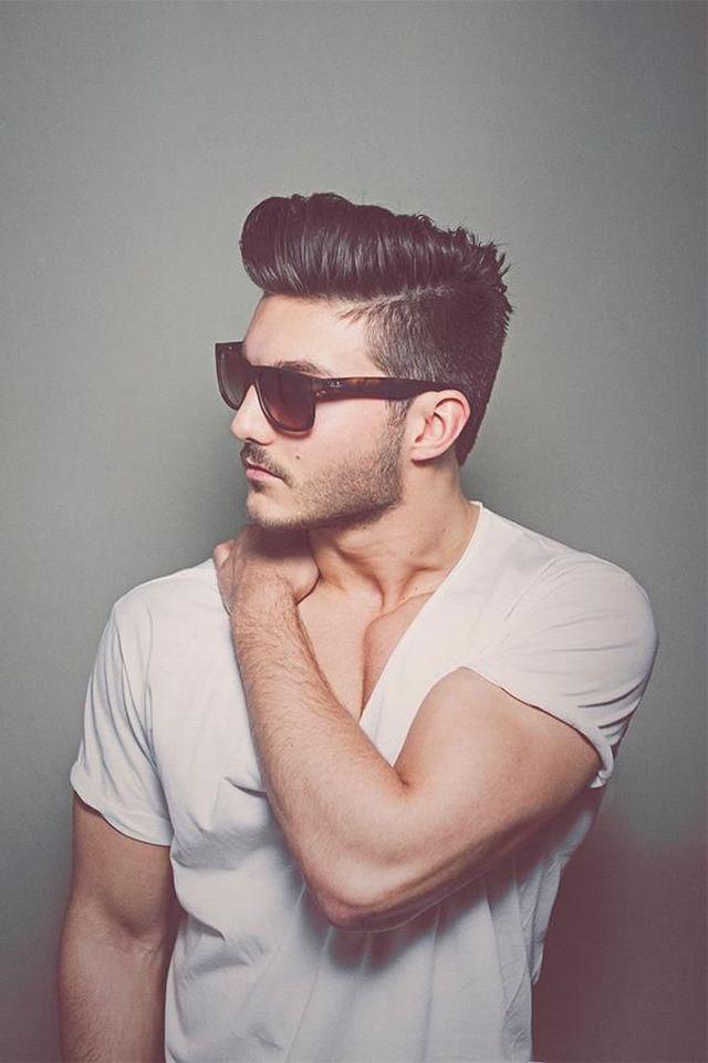peinado masculino moderno estilo original tupe
