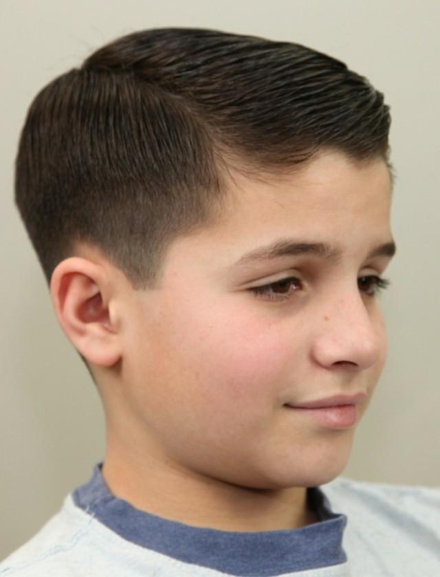 peinado niño clasico bonito