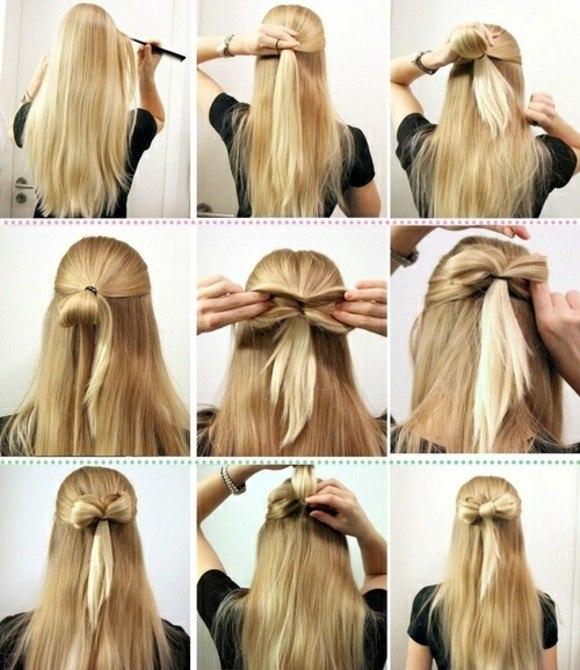 peinado rapido facil idea bonita