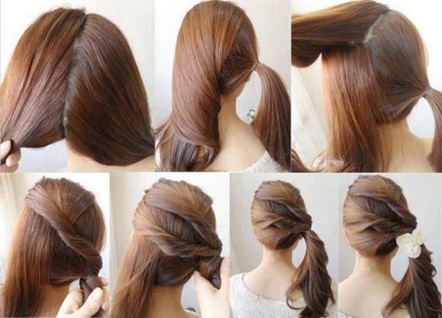peinados rapidos y faciles para cualquier ocasin - Peinados Fciles