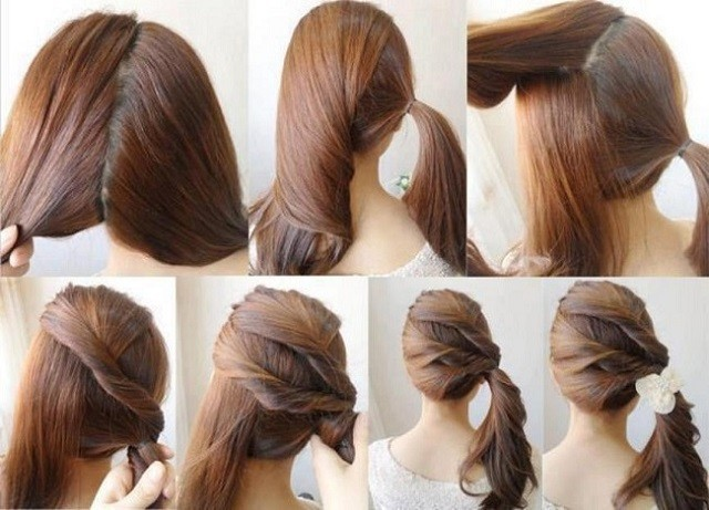 peinados faciles interesantes rapidos peciso