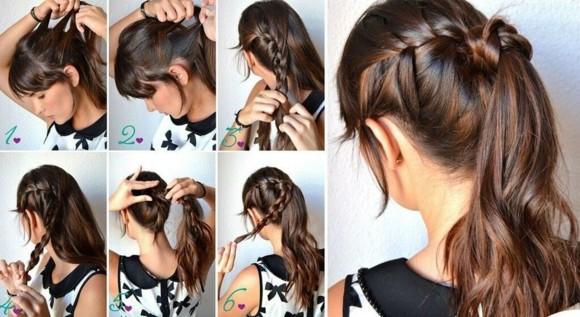 peinados faciles rapidos ideas ingeniosas