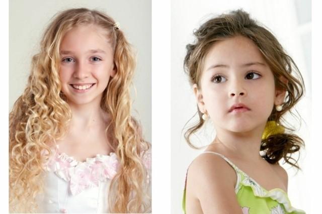 peinados para niñas ondulado lacio fiestas