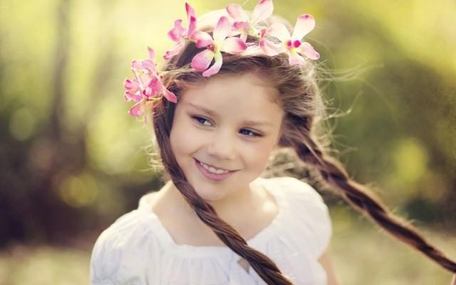 peinados para niñas trenza sencillas flores