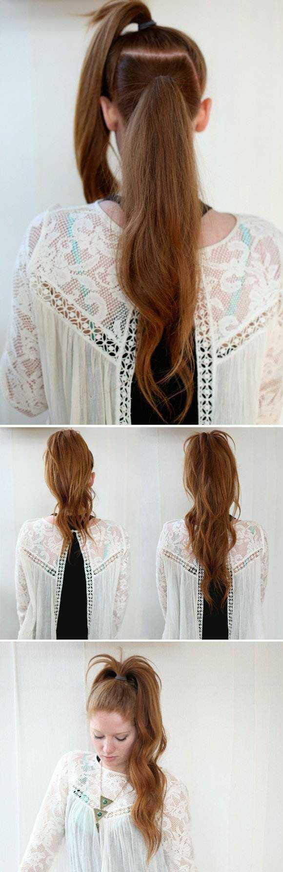 peinados rapidos ideas creativa peinado interesante