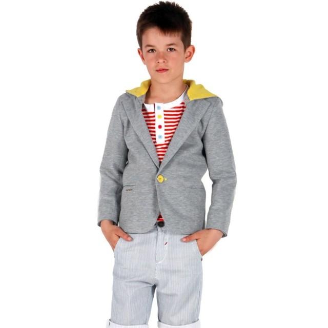 pelado de moda chico gris