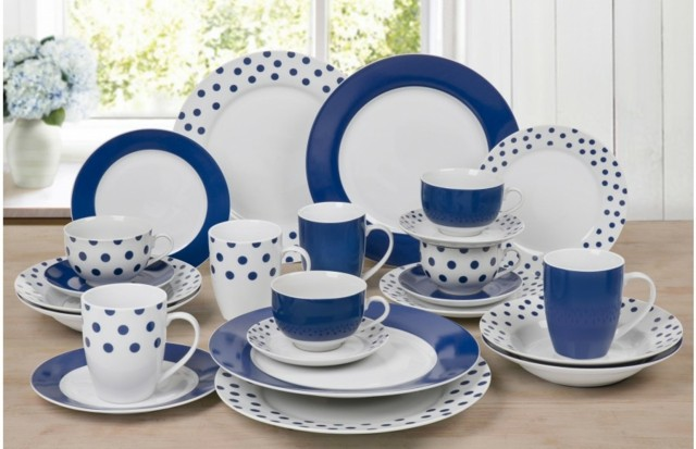 perfecto cena aire libre azul blanco combinacion