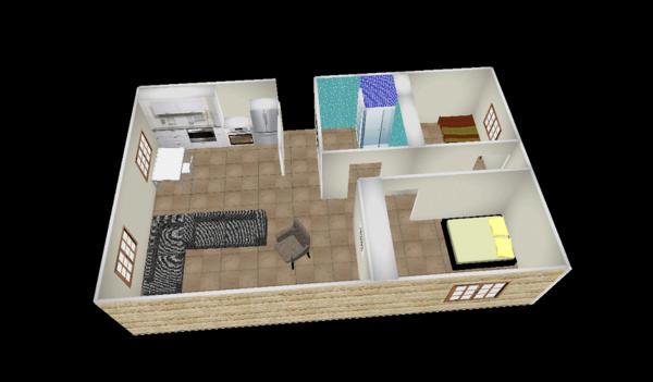4 bedroom rectangular house plans