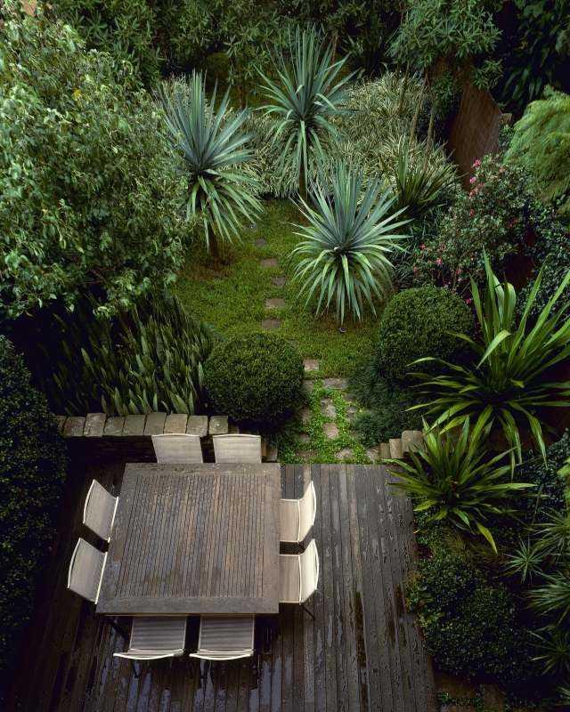 plantas arboles decoracion sillas terraza