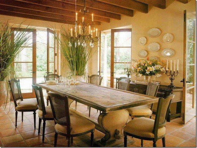 plantas comedor sillas diseño calido decoracion plantas